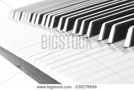 Keyboard Isolated On White