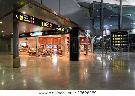 Valencia Airport Interior