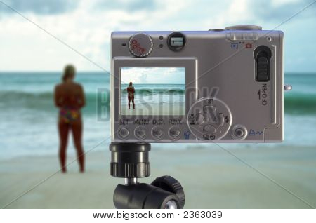 Camera At The Beach