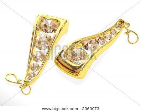Female Jeweller Ornament For Ears