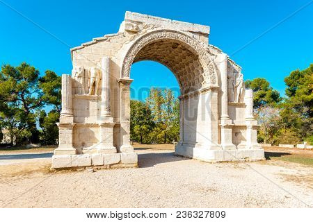 Roman Triumphal arch, Glanum, Provence, France