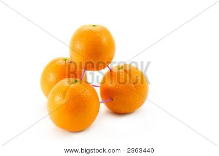 3-D Modelling With Oranges