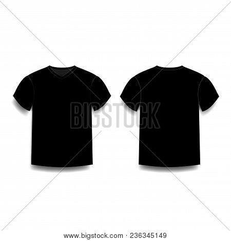 black male t shirt vector photo free trial bigstock rh bigstockphoto com black t shirt vector png black t-shirt vector free download