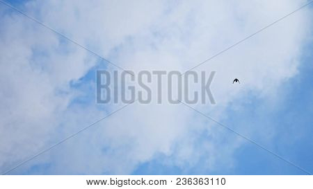 Beautiful Blue Sky With Clouds Background.sky Clouds.sky With Clouds Weather Nature A Cloud Blue.blu