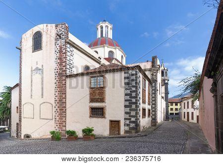 Church Of Nuestra Senora De La Concepcion In La Orotava On The Island Of Tenerife, Canary Islands, S