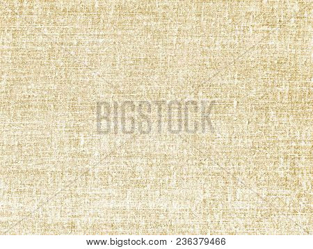 Beige Canvas Texture. Modern Background For Posters, Brochures, Sites, Web, Cards, Interior Design