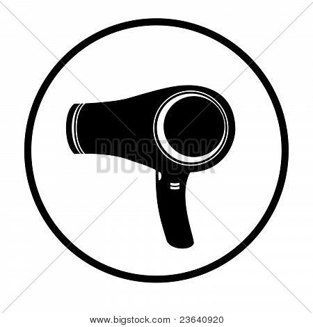 Blow Dryer / Hair Dresser Symbol