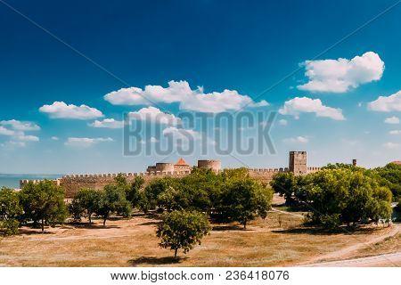 Medieval Fortress Akkerman In Belgorod-dniester, Ukraine. Akkerman Fortress - A Old Monument To Hist