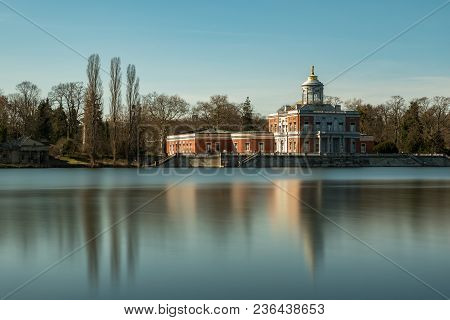 The Marble Palace In Potsdam At Long Time Exposure