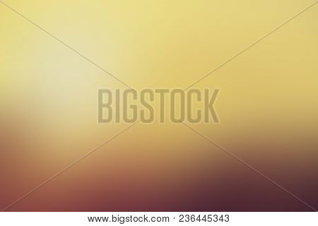 Gradient Background, Autumn, Foliage, Orange, Yellow, Brown, Blur Smooth Soft Wallpaper Abstract Wit
