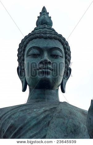 Head of standing Buddha