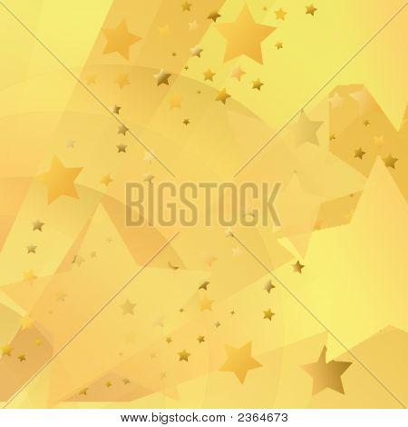 Gold Starburst Background