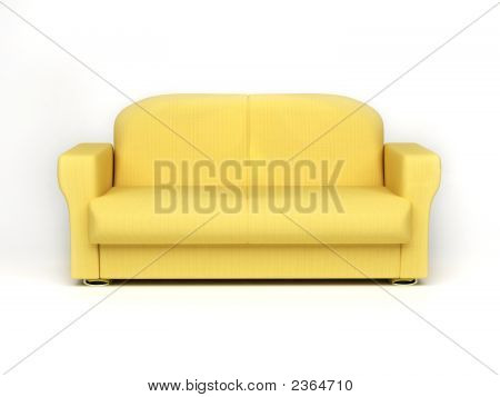 Sofas Isolated