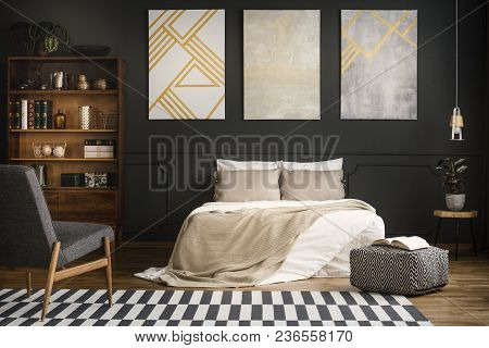 Modern Wood Bedroom