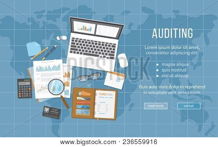 Auditing Concepts. Data Analysis, Analytics, Planning, Statistics, Research. Documents, Calendar, Ca