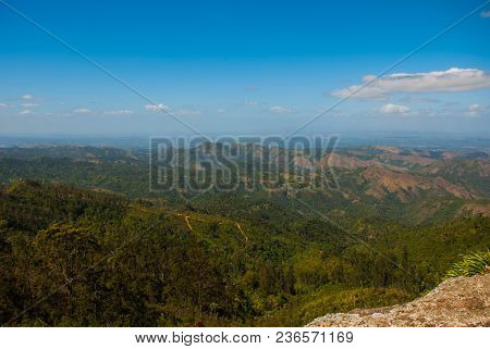 The View From The Top National Park Of La Gran Piedra, Big Rock In The Sierra Maestra Mountain Range