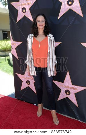 LOS ANGELES - APR 16:  Melissa Fumero at the Eva Longoria Star On The Hollywood Walk Of Fame Post Luncheon at Private Residence on April 16, 2018 in Beverly Hills, CA