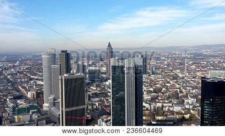 Skyline Of The City Of Berlin And Its Buildings - Germany 02