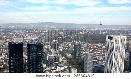 Skyline Of The City Of Berlin And Its Buildings - Germany