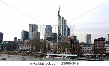 Skyline Of The City Of Berlin And Its Buildings - Germany 03