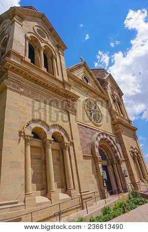 Cathedral Basilica Of Saint Francis Of Assisi  Also Known As The Saint Francis Cathedral In Santa Fe