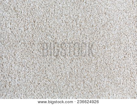 Carpet Texture Background In A Neutral Color Closeup