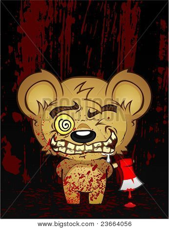 Psycho Teddy Bear