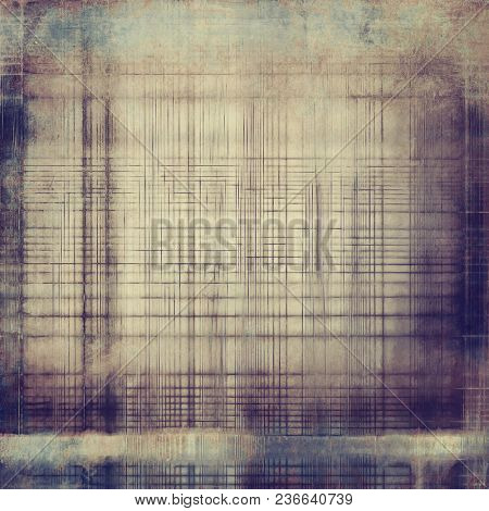 Retro grunge vintage background or weathered antique texture with different color patterns