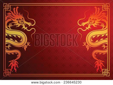 chinese dragon vector photo free trial bigstock