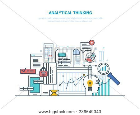 Analytical Thinking. Logical Analysis And Reasoning, Searching For Effective Optimal Solution In Sit