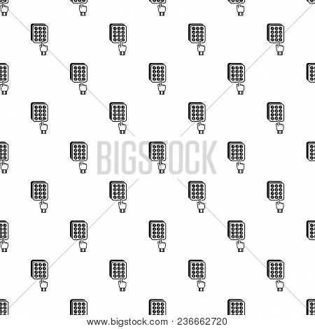 Digital Lock Pattern Vector Seamless Repeating For Any Web Design
