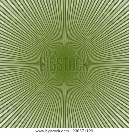 Geometrical Gradient Abstract Ray Background - Comic Vector Design From Striped Rays