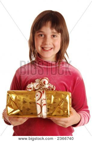The Girl With  New Year'S Presents
