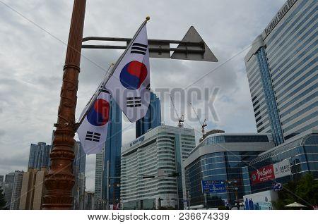 An Image Of Busan, South Korea Captured On October 5, 2013.