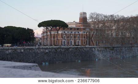 Courthouse. Tribunale Di Sorveglianza (supervisory Review Court) Rome, Italy.