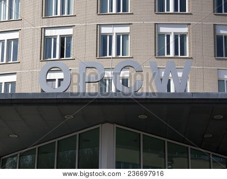 Letters On The Opcw Building In The Hague Netherlands