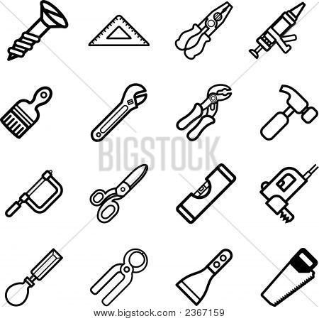 Tool Icon Series Set