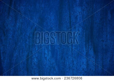 Dark Blue And Blue Background Smeared With Brushes
