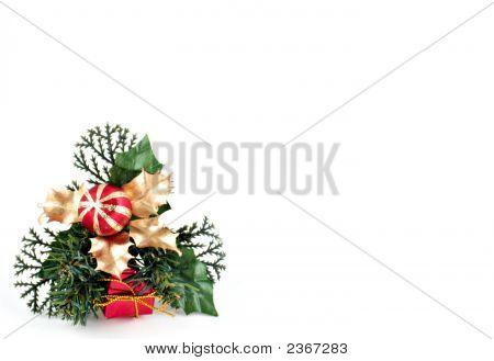 Christmas Decoration Isolated On White 1