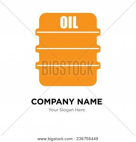 Oil Company Logo Design Template, Business Corporate Vector Icon