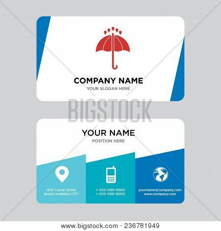 24 Hours Business Card Design Template, Visiting For Your Company, Modern Creative And Clean Identit