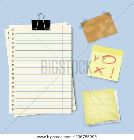Paper Templates For Notes Square And Rectangular Vertical Shape