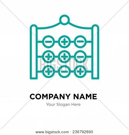 Tic Tac Toe Company Logo Design Template, Business Corporate Vector Icon