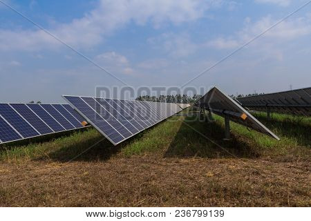 Solar Panel Tracking Systems, Energy Power In Thailand.