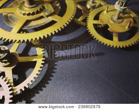 Cogs and gears background