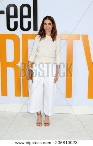 LOS ANGELES - APR 17:  Amanda Peet at the