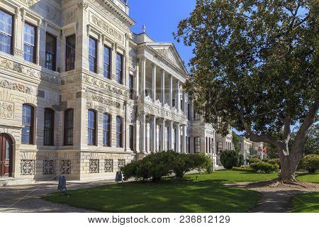 Istanbul, Turkey - September 13, 2017: This Building Is The National Museum Of Palace Painting.it Is