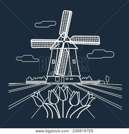 Silhouette Traditional Holland