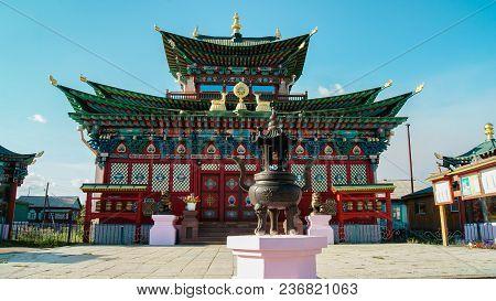 Buddhist Temple, Ivolginsky Datsan, Ulan Ude City