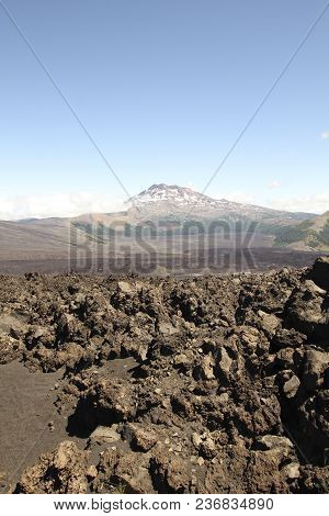 Tolhuaca Volcano, In Malalcahuello And Nalcas National Park, Chile